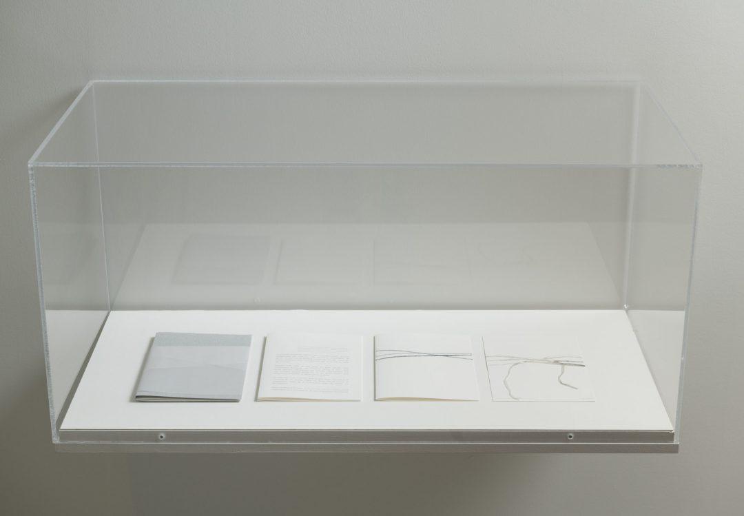 Au nom de la matière. Le musée imaginaire de Louise Warren, vue d'installation 3 au Musée d'art de Joliette, 2020. Photo : Paul Litherland