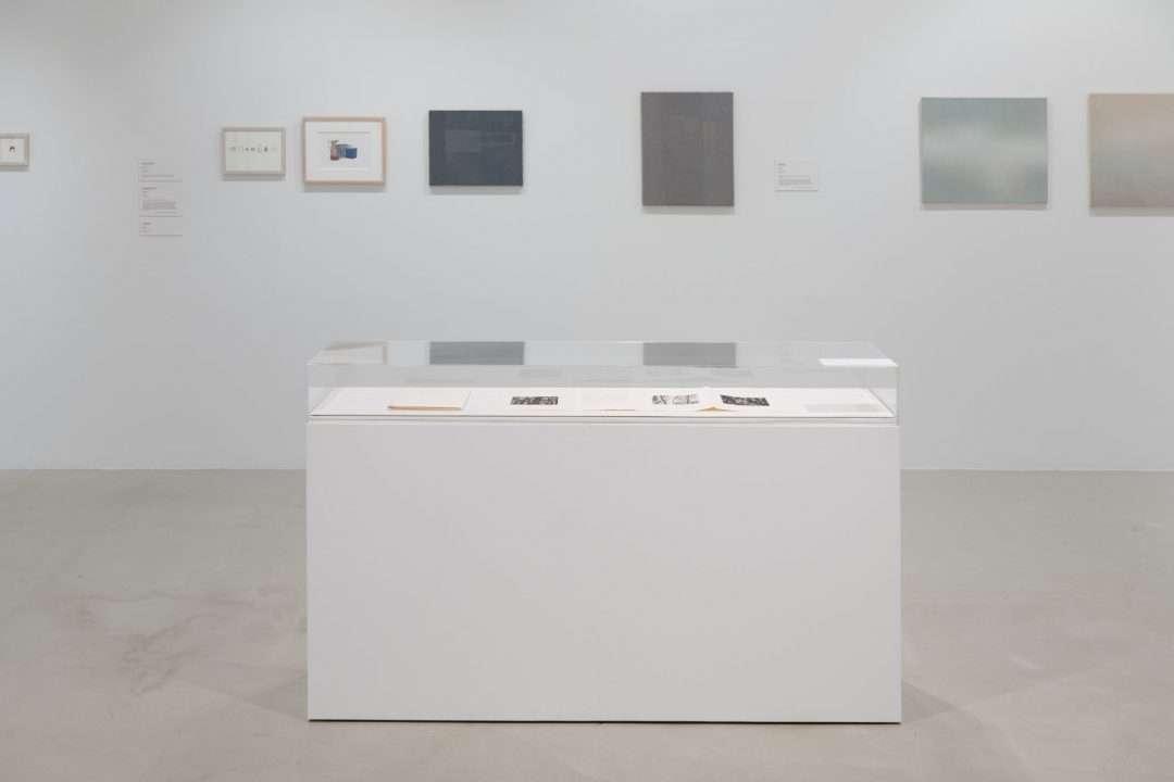 Au nom de la matière. Le musée imaginaire de Louise Warren, vue d'installation 4 au Musée d'art de Joliette, 2020. Photo : Paul Litherland
