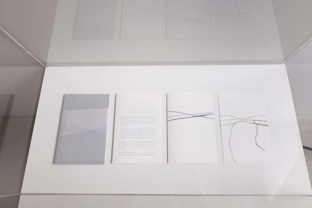 Au nom de la matière. Le musée imaginaire de Louise Warren, vue d'installation au Musée d'art de Joliette, 2020. Photo : Paul Litherland